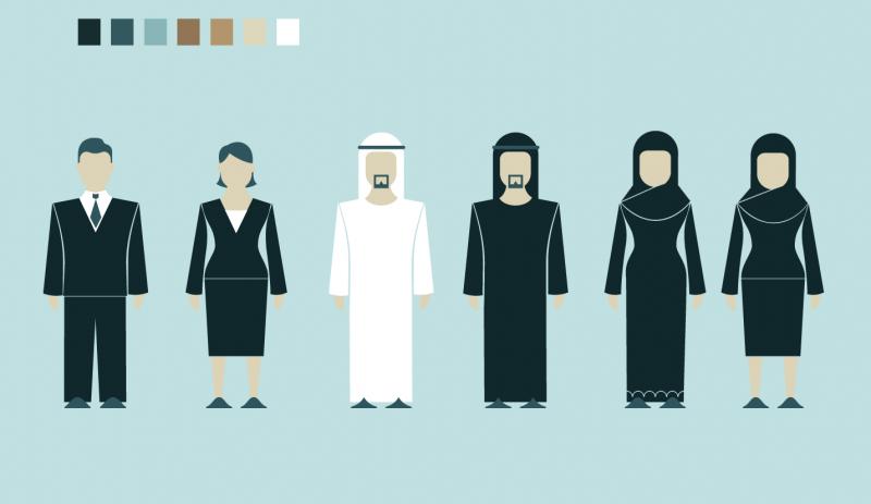 Diseño de Personajes. Motion Graphics Gobierno de Dubai